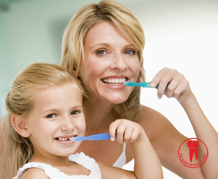 The parents will have an important role in guiding, reminder children during daily oral care