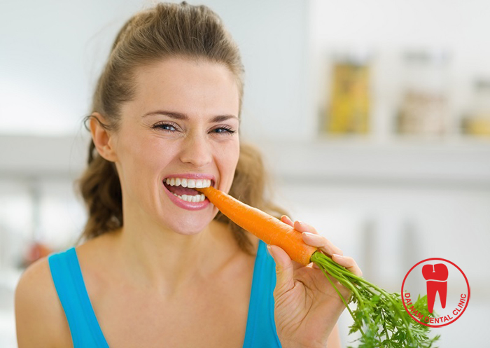 Choose food wisely will help extend the life of the natural teeth